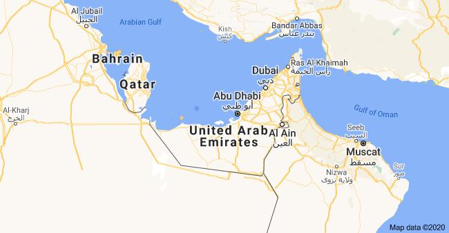 UAE map image